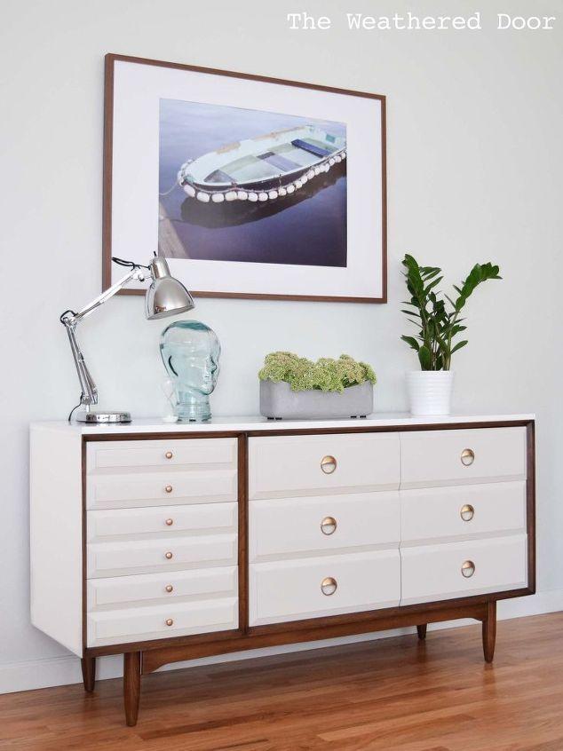 Before U0026 After. Mid Century Modern DresserMid Century FurnitureUpcycled FurnitureModern  FurniturePainted ...