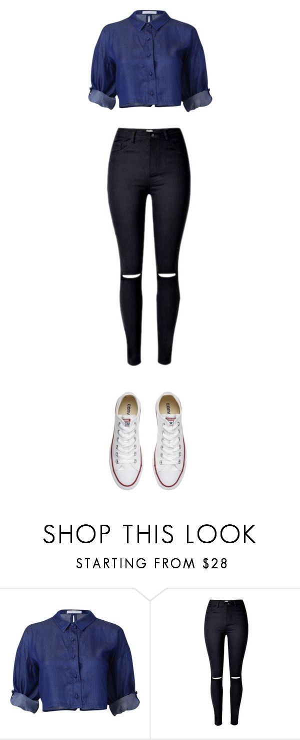 """""""Sin título #230"""" by karenrodriguez-iv on Polyvore featuring moda y Converse"""