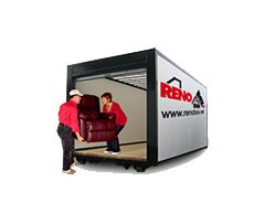 Location d'entrepôt mobile Renobox