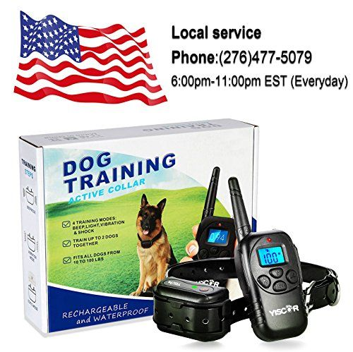 YISCOR Bark Collar, Shock/Vibration/Beep Remote 330Yds Waterproof All Size Dogs (10-100 Pounds) Electric Dog Training Collar Anti Barking Collar for Dogs   Check it out-->  http://mypets.us/product/yiscor-bark-collar-shockvibrationbeep-remote-330yds-waterproof-all-size-dogs-10-100-pounds-electric-dog-training-collar-anti-barking-collar-for-dogs/  #pet #food #bed #supplies