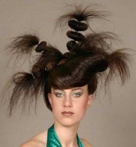 corte de pelo raro para mujer