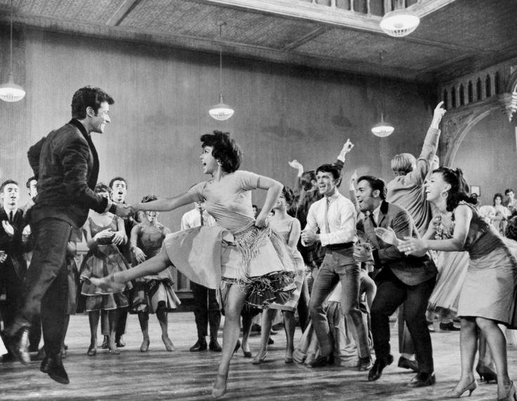 West Side Story, 1961, starring Richard Beymer, Natalie Wood, Russ Tamblyn, Rita Moreno, George Chakiris, Simon Oakland and, of course, New York City.