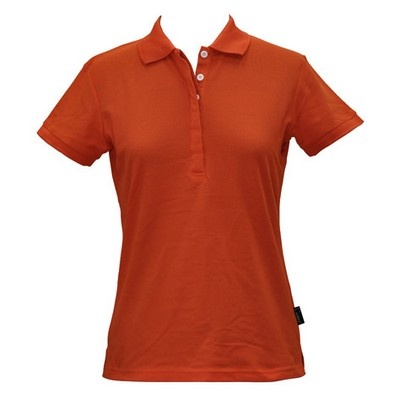 Solid Colour Pique Ladies CoolDry Polo Min 25 - 170gsm TrueDry Pique knit 60% Cotton, 40% Cooldry Polyester. #PoloShirts  #PromotionalProducts  #PromotionalPoloShirt  #CooldryPoloShirts #LadiesPoloShirt