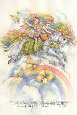 Jody Bergsma, a NW watercolor artist: Bergsma Art, Interesting Artists, Fantasy Artists, Art Fae, Watercolor Artists, Rainbow, Artist Jody, Art Inspirations