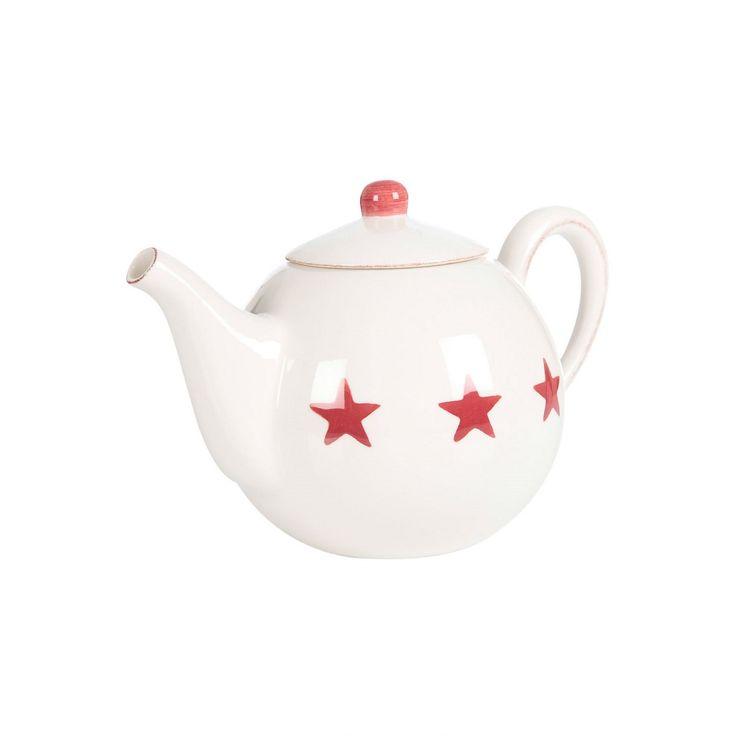 Gant Home Star Breakfast teekannu Punainen, Sisustus Trendo