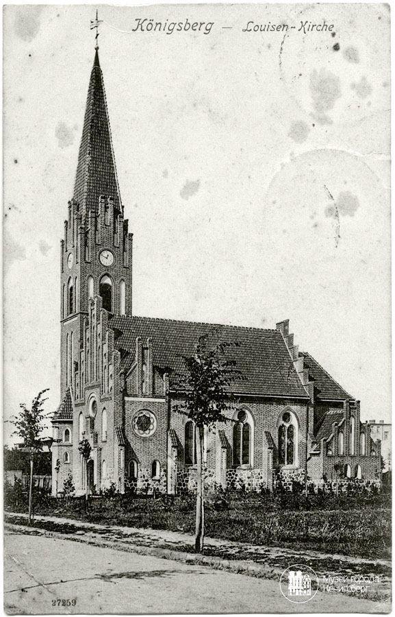 Königsberg Pr. Louisen - Kirche ca. 1915
