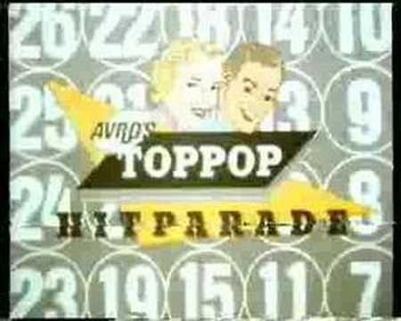 AVRO's TOPPOP leader met Ad Visser