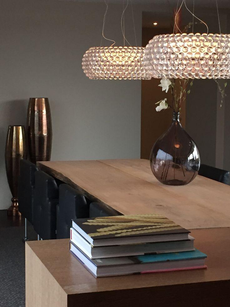 project choc studio - zwaanshoek the netherlands - Foscarini Caboche & rough oak table