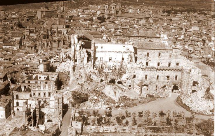 Spain - 1936. - GC - Toledo, 20-21 de septiembre de 1936. Autor: Vincent Doherty.