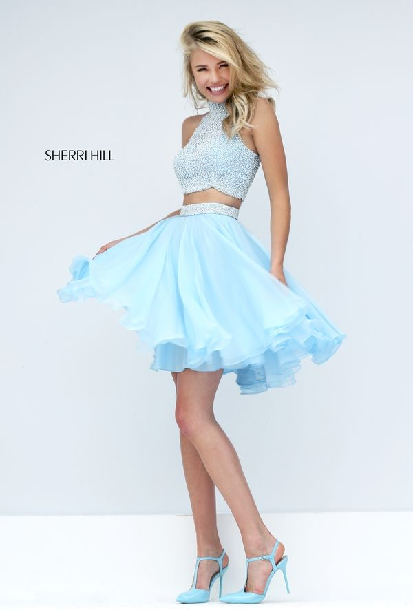 Simple Short Homecoming Dresses 2018 36