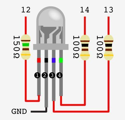 How do I calculate what resistors I need for RGB LEDs with 3.7V? – Electrical Engineering Stack Exchange