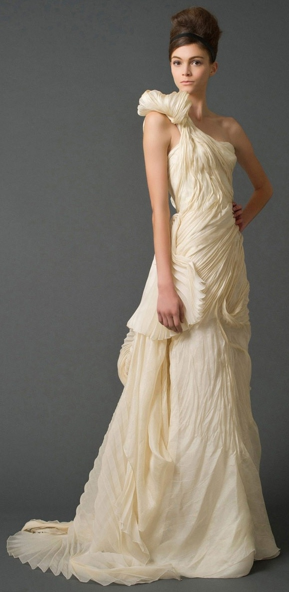 Toga style wedding gown say yes to the dress just for Toga style wedding dress