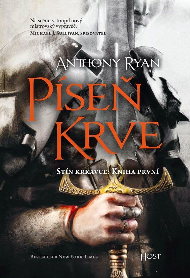 Anthony Ryan: Blood Song | czechcover | #cover #book #anthonyryan #bloodsong