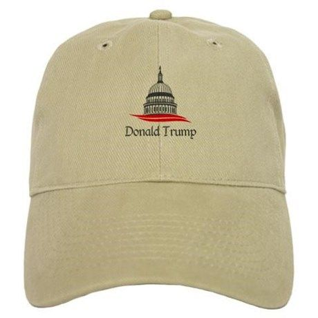 Donald Trump White House 2016 Baseball Cap on CafePress.com