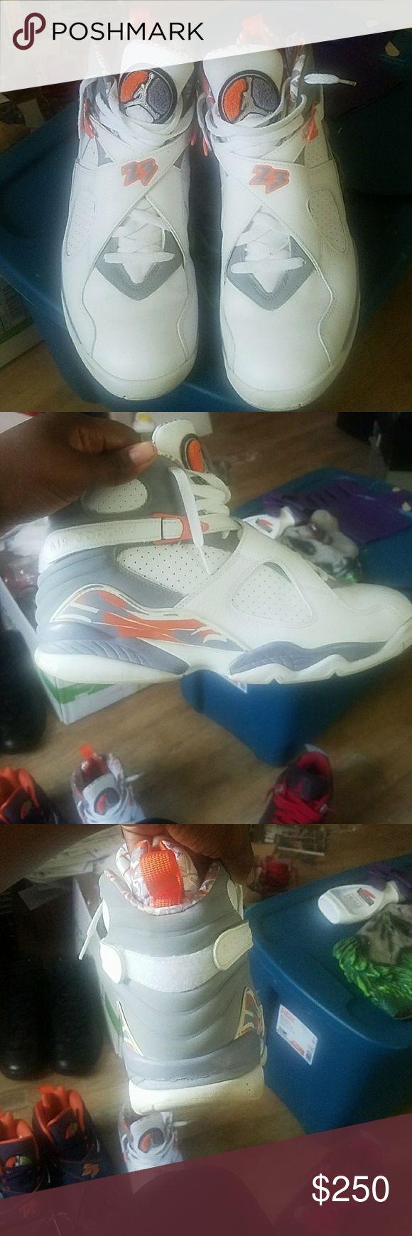 Jordan's 8 *authentic General release normal wear Jordan Shoes Athletic Shoes