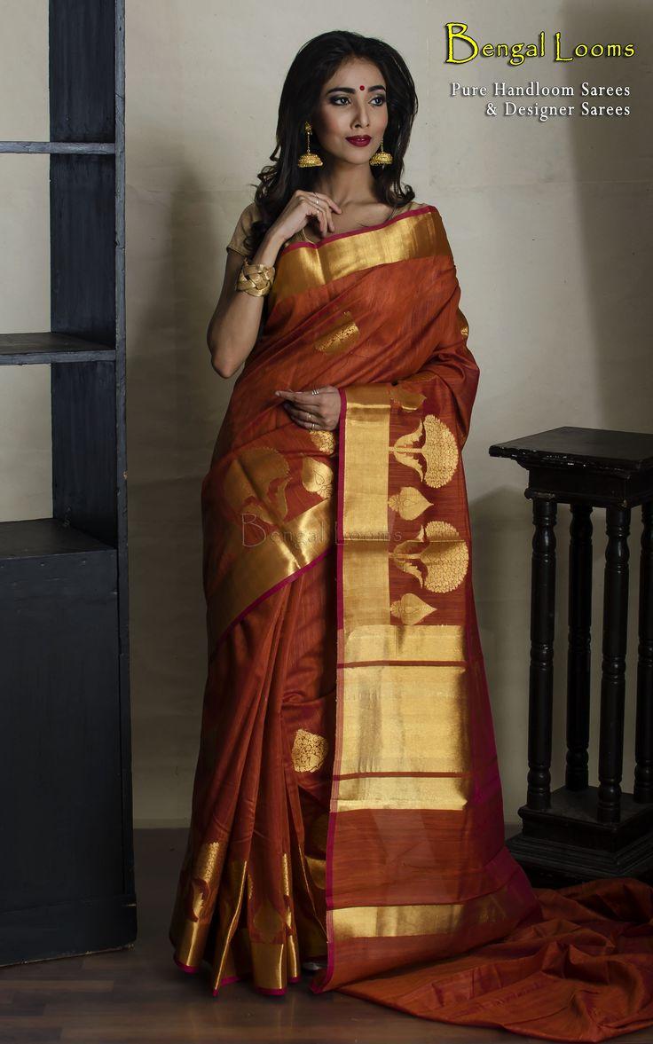 Silk Cotton Banarasi Saree