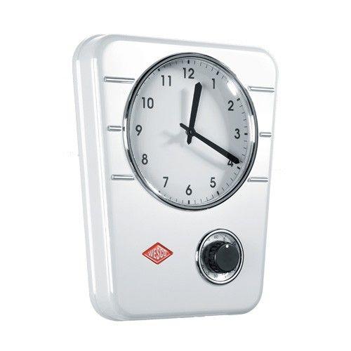 Wesco - Kitchen Clock - White | $139.00 - Milan Direct