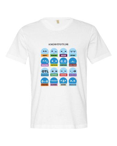 Korean Emoticons T-shirt (Free Shipping) – Dom & Hyo Store
