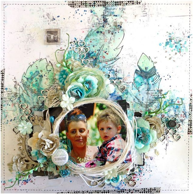 So Amazing - Layout Tutorial by Jacqueline Moore