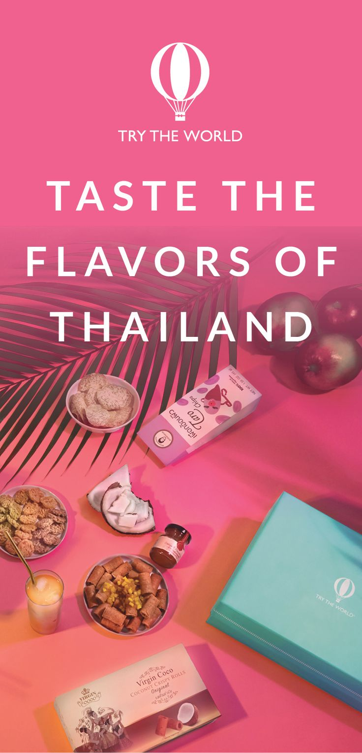Let Try The World take you on a culinary Thai adventure led by expert chef Jet Tila. Experience traditional Thai iced tea, Tom Yum soup, delectable curry, Jasberry rice pudding, and so much more. Subscribe today and receive a FREE Paris Box with your Thailand Box!