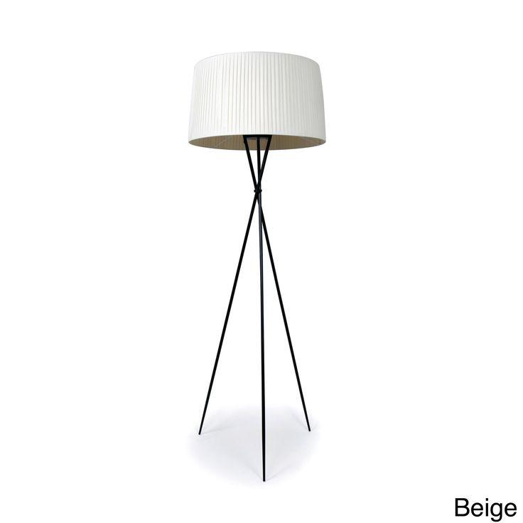 Hans Andersen Home Sticks Beige Floor Lamp (Sticks Floor Lamp Beige) Off-White (Metal)