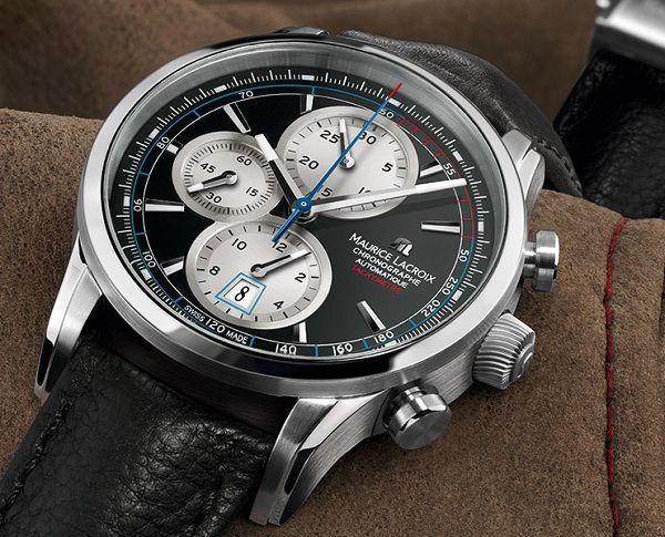 Maurice Lacroix Pontos Chronographe #MauriceLacroix Swiss Watchmakers  #horlogerie @calibrelondon