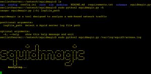 squidmagic is a tool designed to analyze a web-based network traffic to detect central command and control (C&C) servers and Malicious site, using Squid proxy server and Spamhaus.