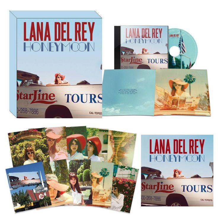 Lana Del Rey: Honeymoon CD Boxset