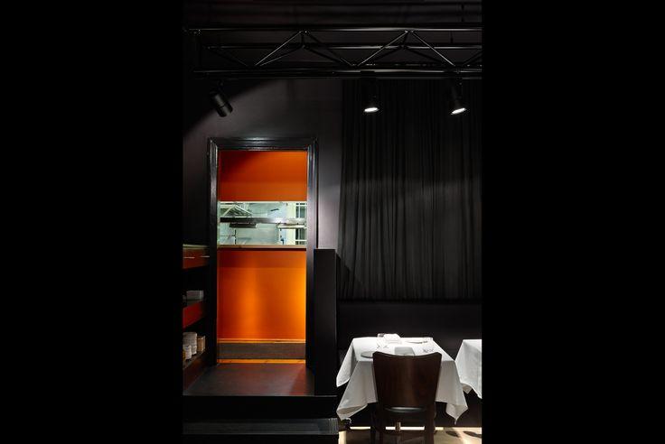Attica Restaurant   Design: Russell & George  Lighting: ambience  Photo: Dianna Snape