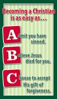 graphic regarding Abc of Salvation Printable identified as Abc Program Of Salvation Printable - 0425