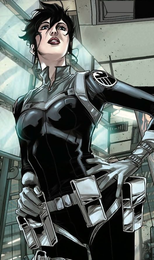 Maria Hill (Earth-616) from Avengers World Vol 1 14 001                                                                                                                                                                                 More