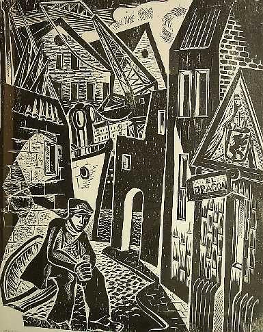 Victor Rebuffo, Ribera, xilografía