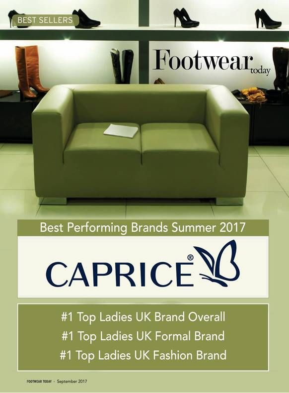 Caprice number one shoe brand in the UK! #caprice #footweartoday #walkingonair #onair #numberone #shoe #brand #shoes #summer #fashion #fashionblogger #comfort #footwear #ukhighstreet #retail #ifra #societyofshoefitters #londonfashionweek #london