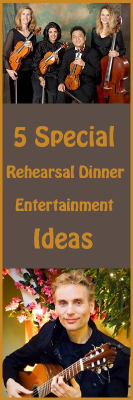5 Special Rehearsal Dinner Entertainment Ideas for your #AtlantaWedding www.blueskyatlanta.com