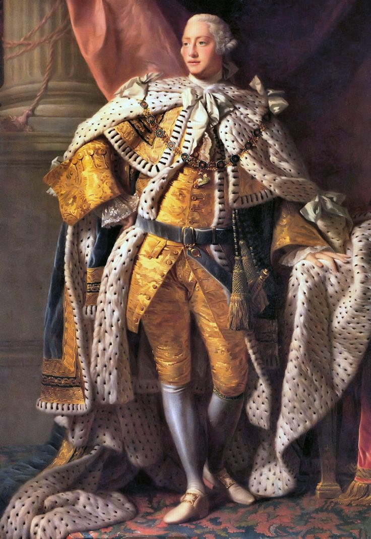 Today is the birthday of King George III. He was born on June 4, 1738, and reigned during the American War for Independence. He is also known for his conflict with William Pitt and for going insane toward the end of his life after having struggled with periods of insanity for much of his reign.