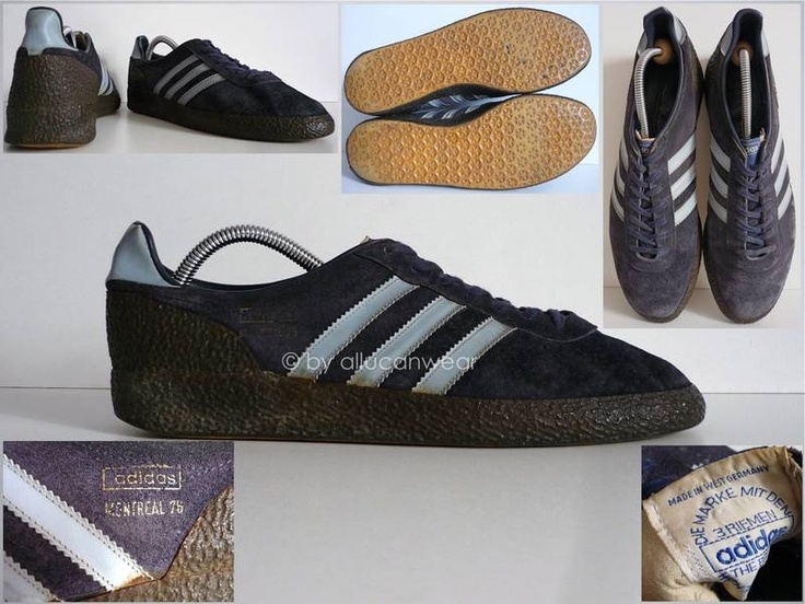 70`S / 80`S VINTAGE ADIDAS MONTREAL 76 SHOES