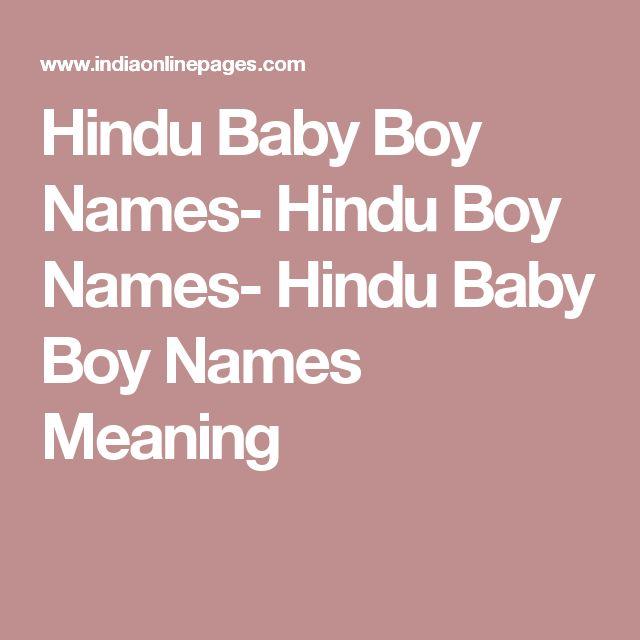 25 best ideas about hindu baby boy names on pinterest