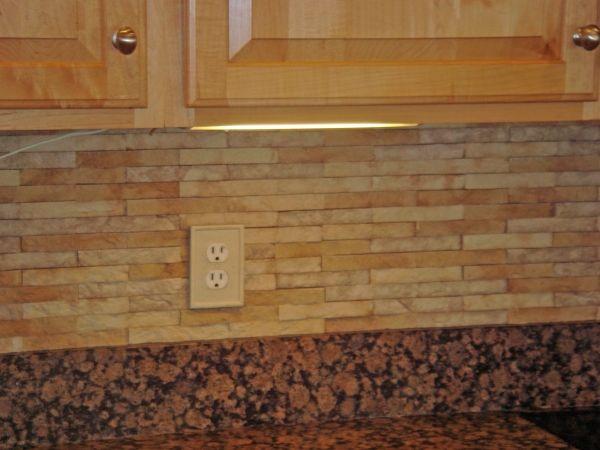 stone backspash stone backsplashbacksplash ideaslight - Stone Backsplash Ideas For Kitchen
