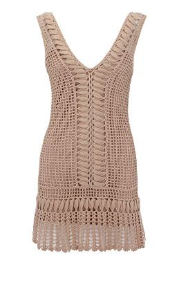 crochet dress - without pattern