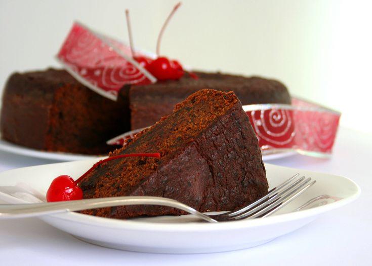 Caribbean Black Cake aka rum or fruit cake