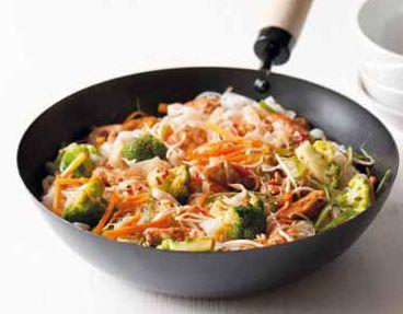 Kuřecí chow mein (cchao mien) (www.albert.cz/recepty)