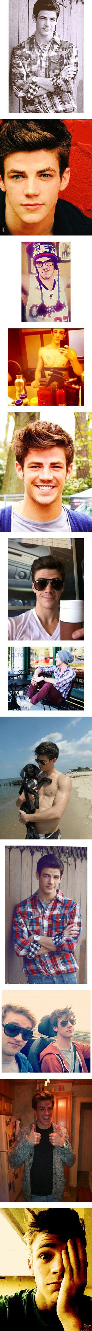 """""""grant gustin"""" by izzy-xoxo ❤ liked on Polyvore"""