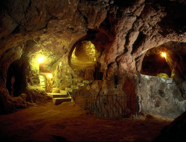 This guy stumbled upon an ancient underground city while repairing his house
