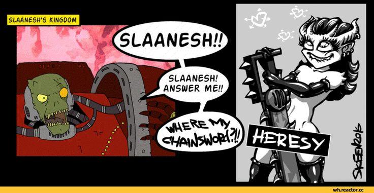 фэндомы,warhammer 40k,Wh Песочница,смешные гифки,Slaanesh,Chaos (Wh…