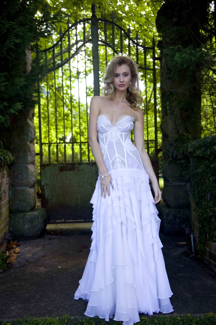 "Australian Couture - Corston Couture's  ""Symphony"" Gown"