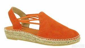 Toni Pons Nuria is a ladies slingback traditional Spanish made espadrille with soft suede leather uppers, elasticated straps, stitch detailing, slight platform and natural jute covered sole. Heel height approx. 30mm. Size: 36, 37, 38, 39, 40, 41, 42. http://www.robineltshoes.co.uk/store/product/171125/Toni-Pons-Nuria-Ladies-Slip-On-Slingback-Espadrille-Sandal/ #summer #espadrille #sandals #womensfashion #shoes #holidays #wedges