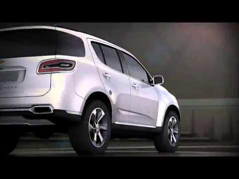 All-New 2013 Chevrolet TrailBlazer reveal promo - YouTube