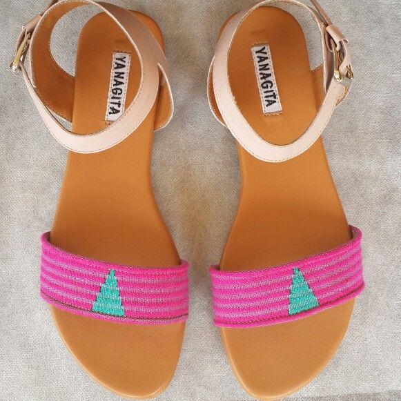 Senandini sandals in pink