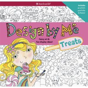 Design by Me: Treats: American Girl colouring book $13.20 on Amazon.ca  Also available at Mastermind and Michaels (ages7+)