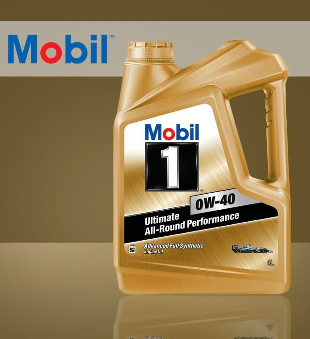 Mobil 1 0w 40 Synthetic Oil Oils Synthetic